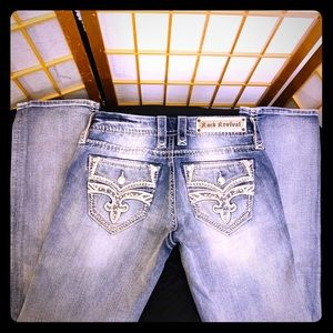 ROCK REVIVAL MELINA JEANS